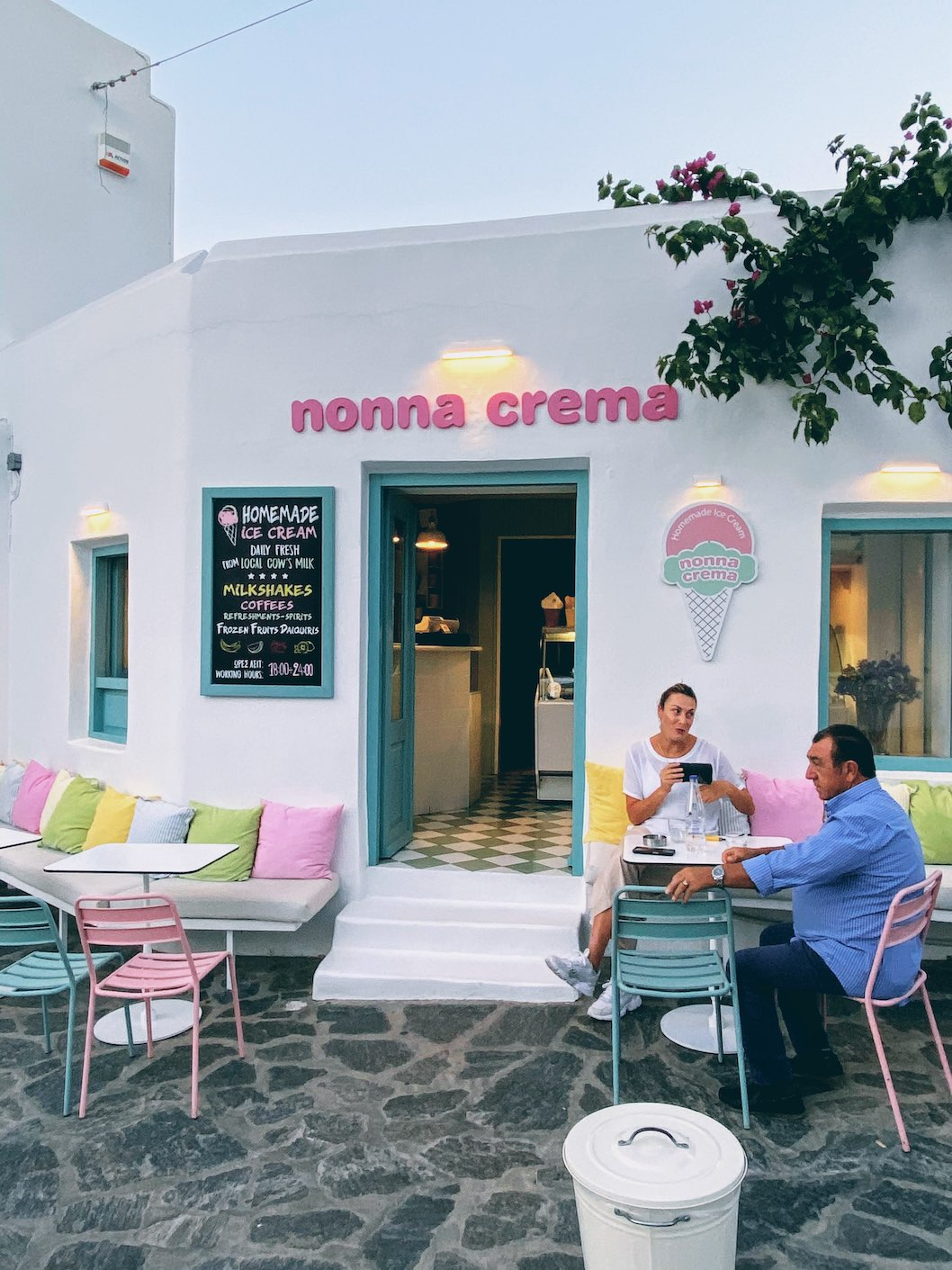 Travel Food People - Nonna Crema, Paros