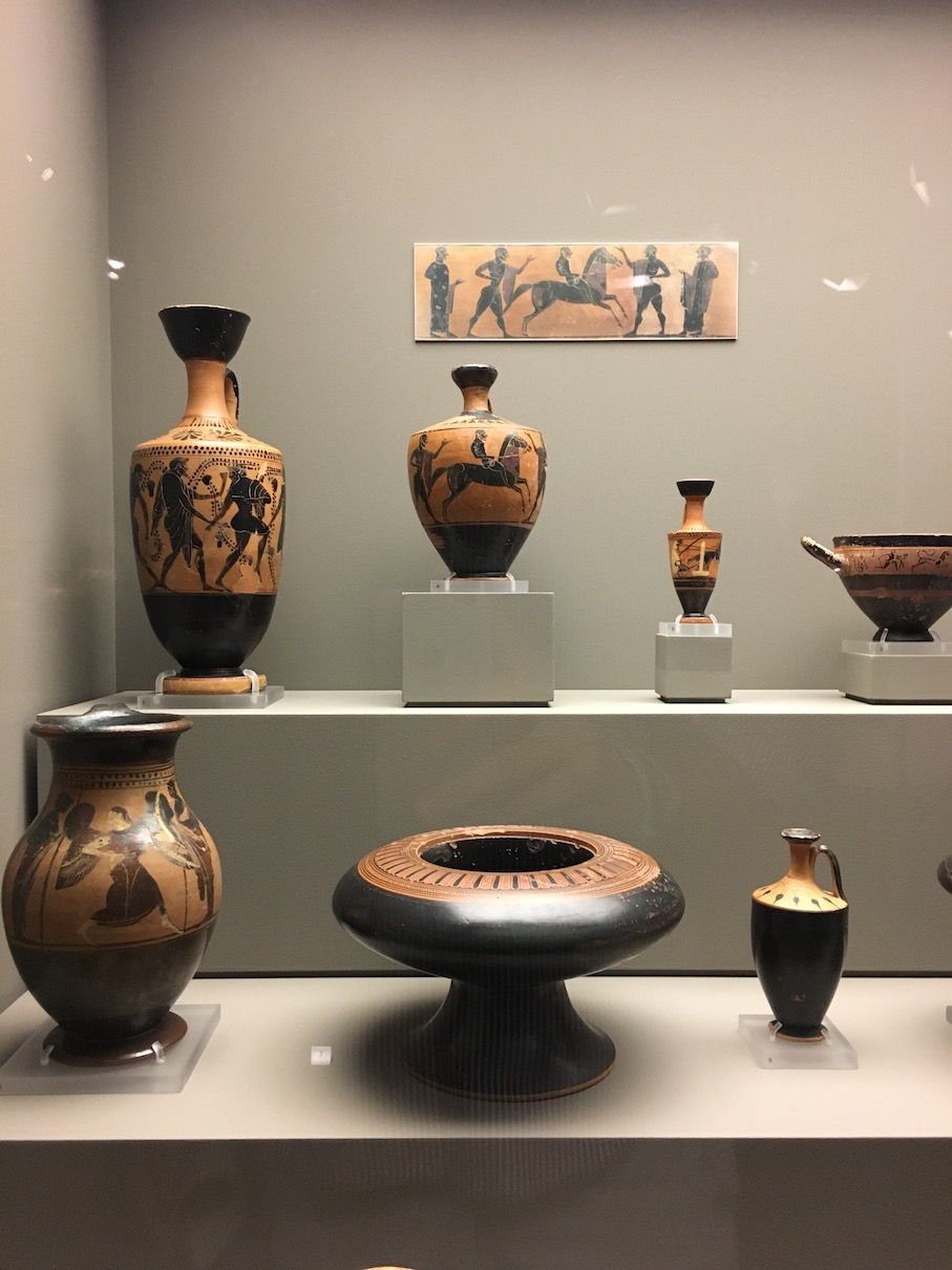 Travel Food People - Cycladic Museum, Athens