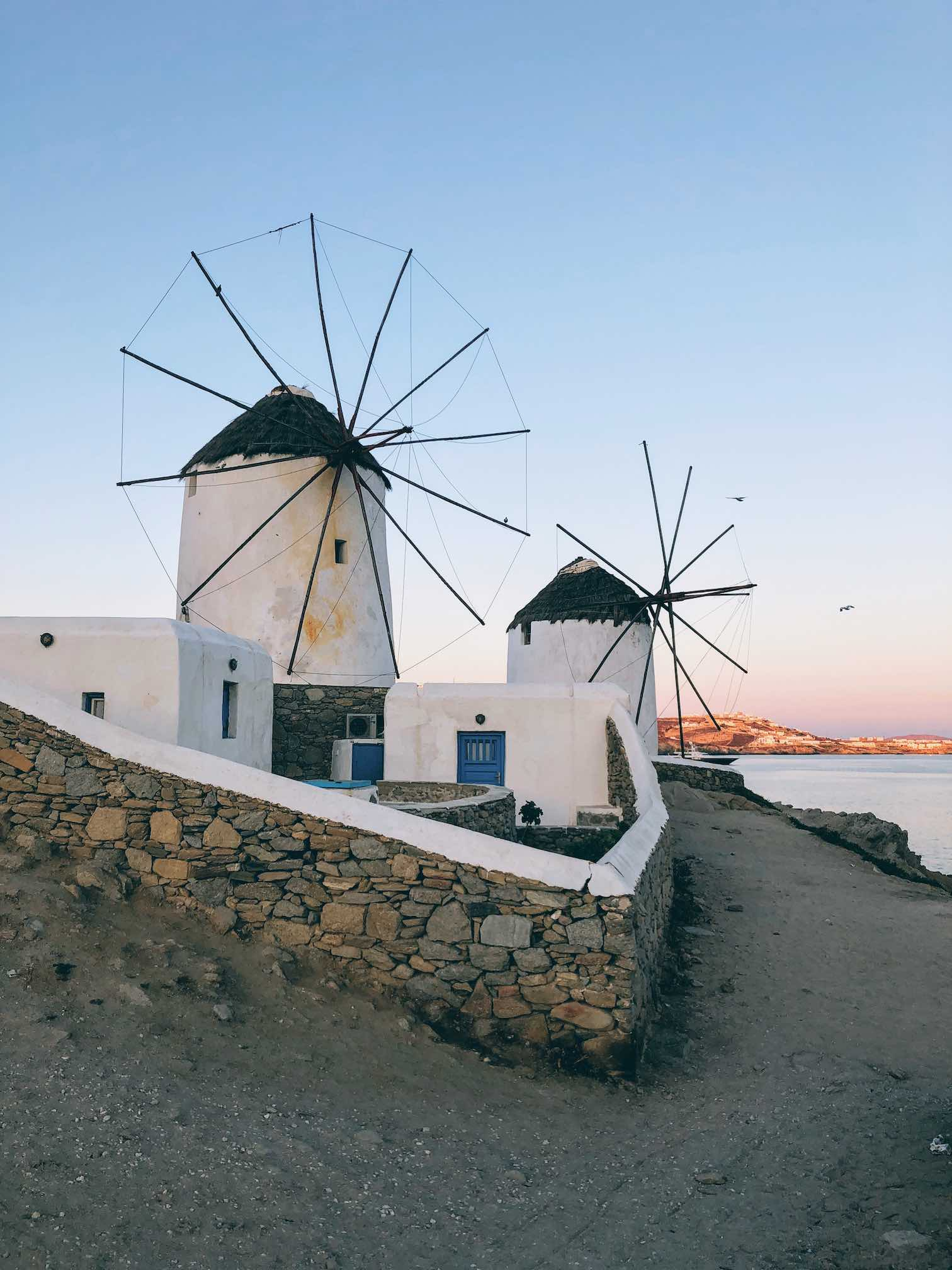 Travel Food People - Windmills, Mykonos