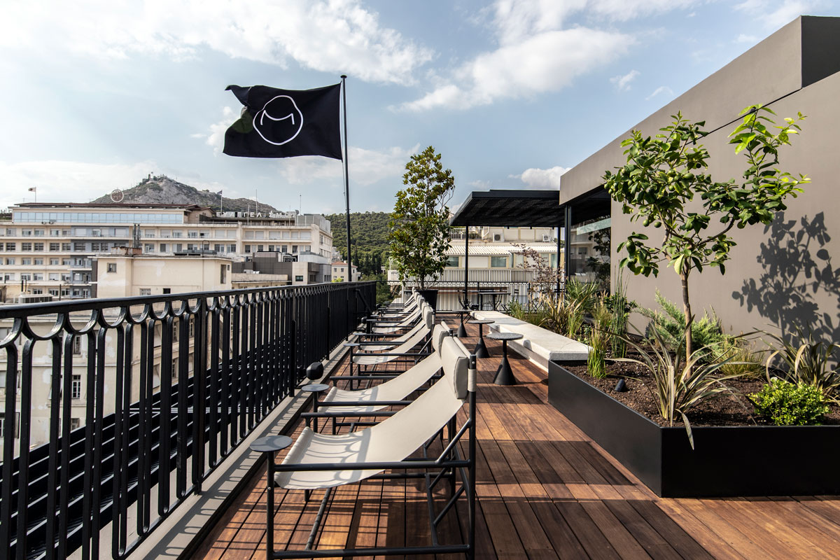 The Modernist, Athens - Rooftop