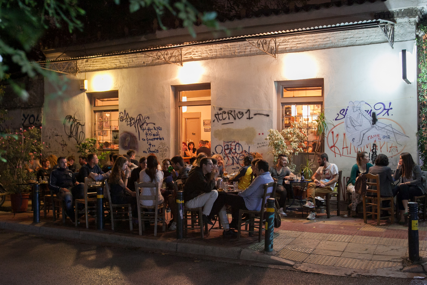 AA (3 hours): [Athens] Athens nightlife tour