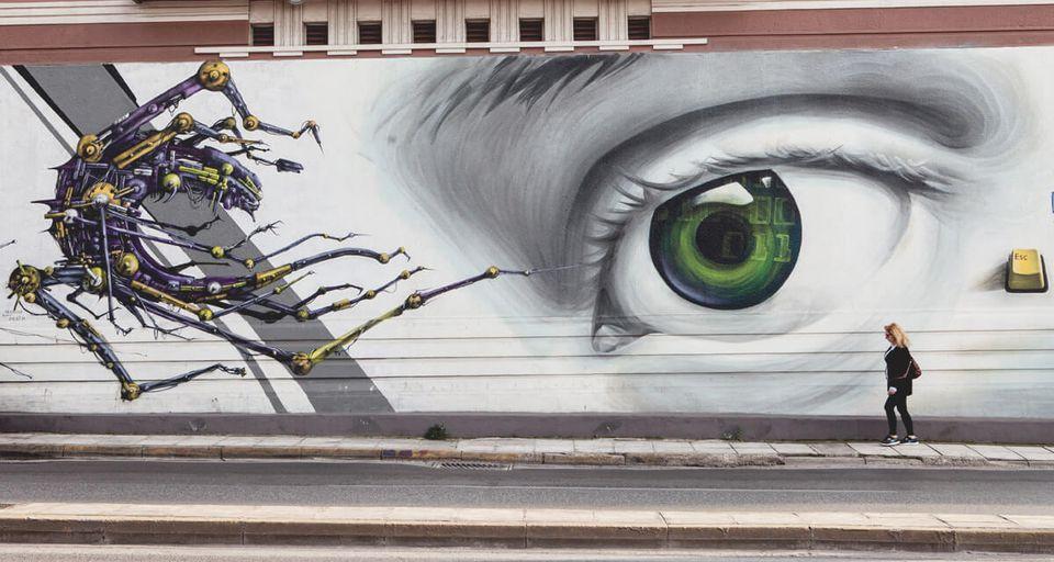 AA (3 hours): [Athens] Athens street art tour