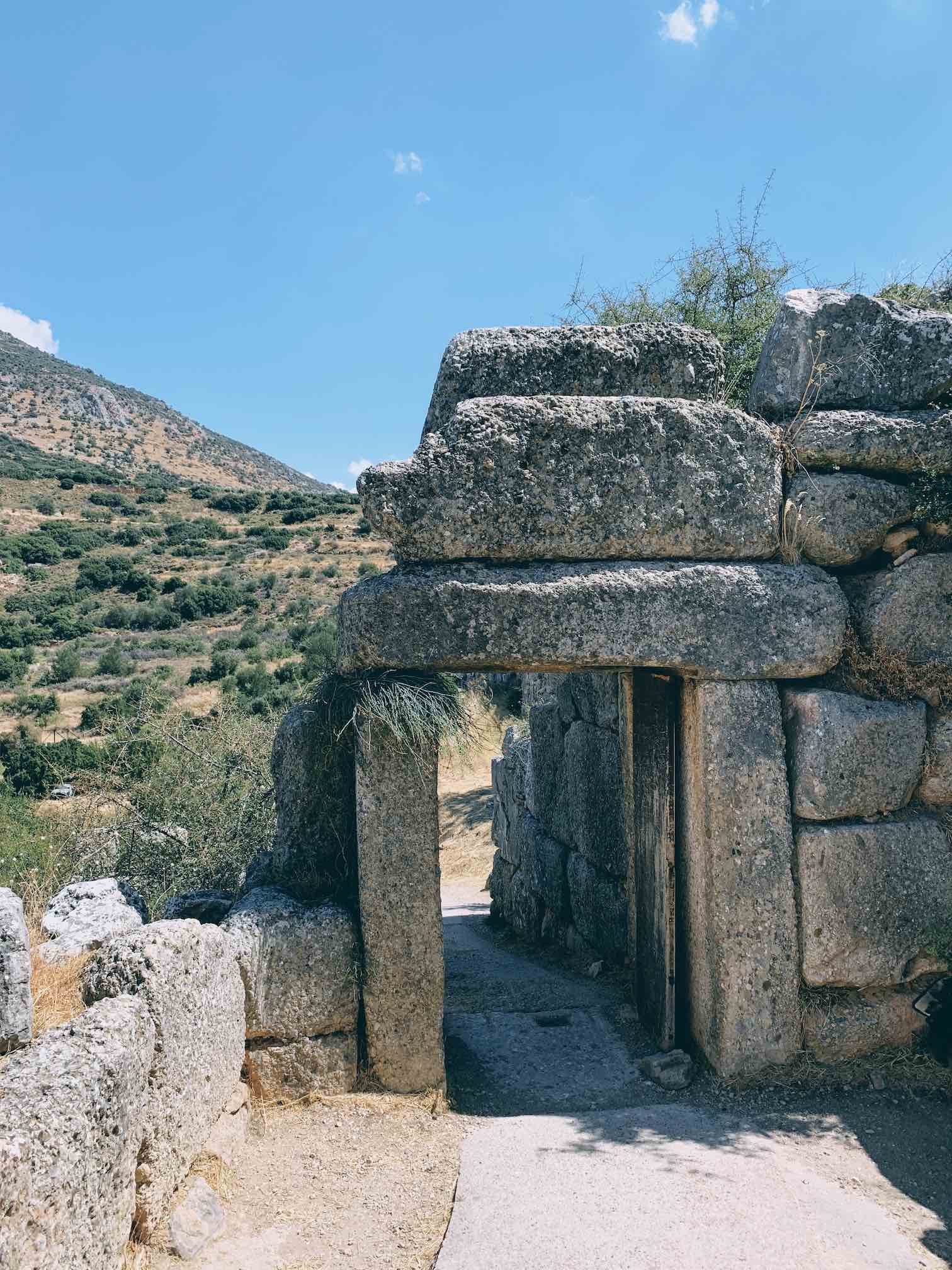 Travel Food People - Ancient Mycenae, Nafplio