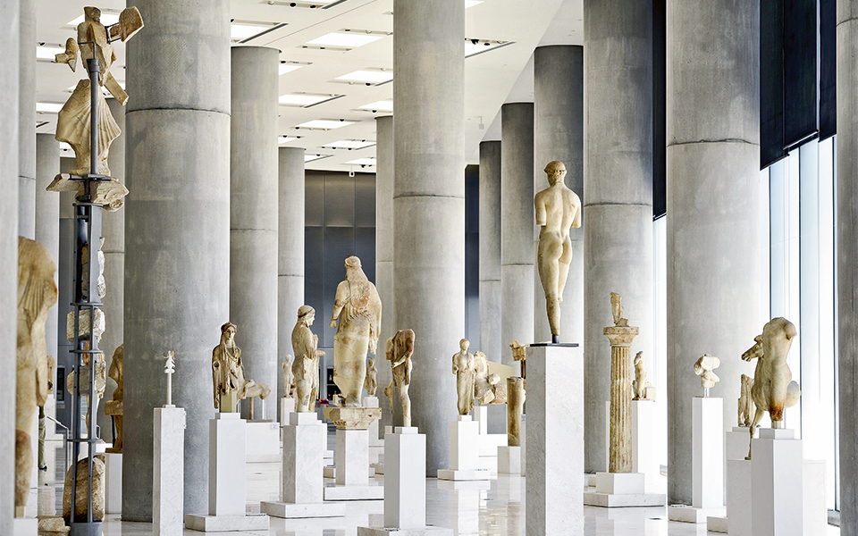Travel Food People - Acropolis Museum, Athens