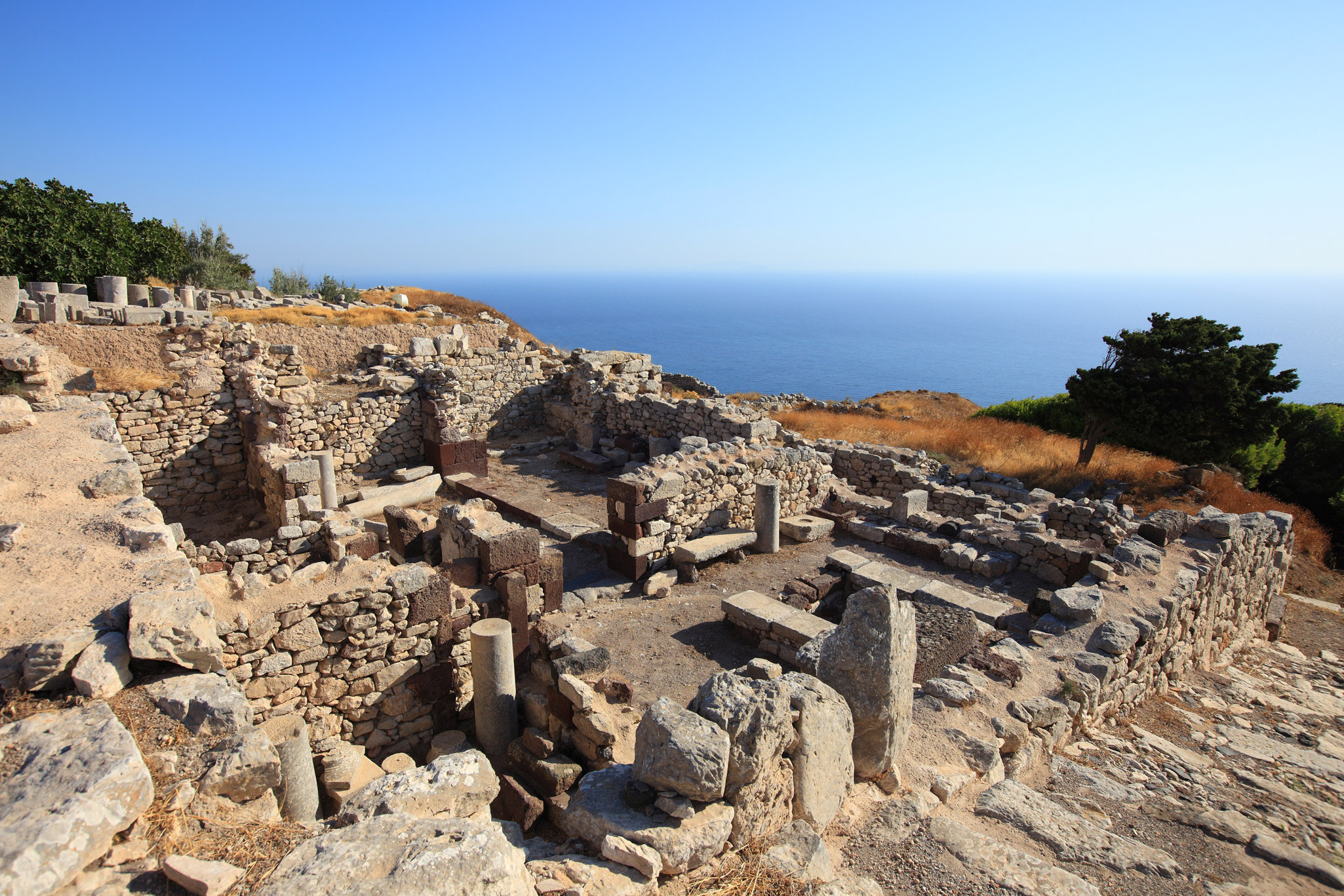 Travel Food People - Ancient Thira, Santorini