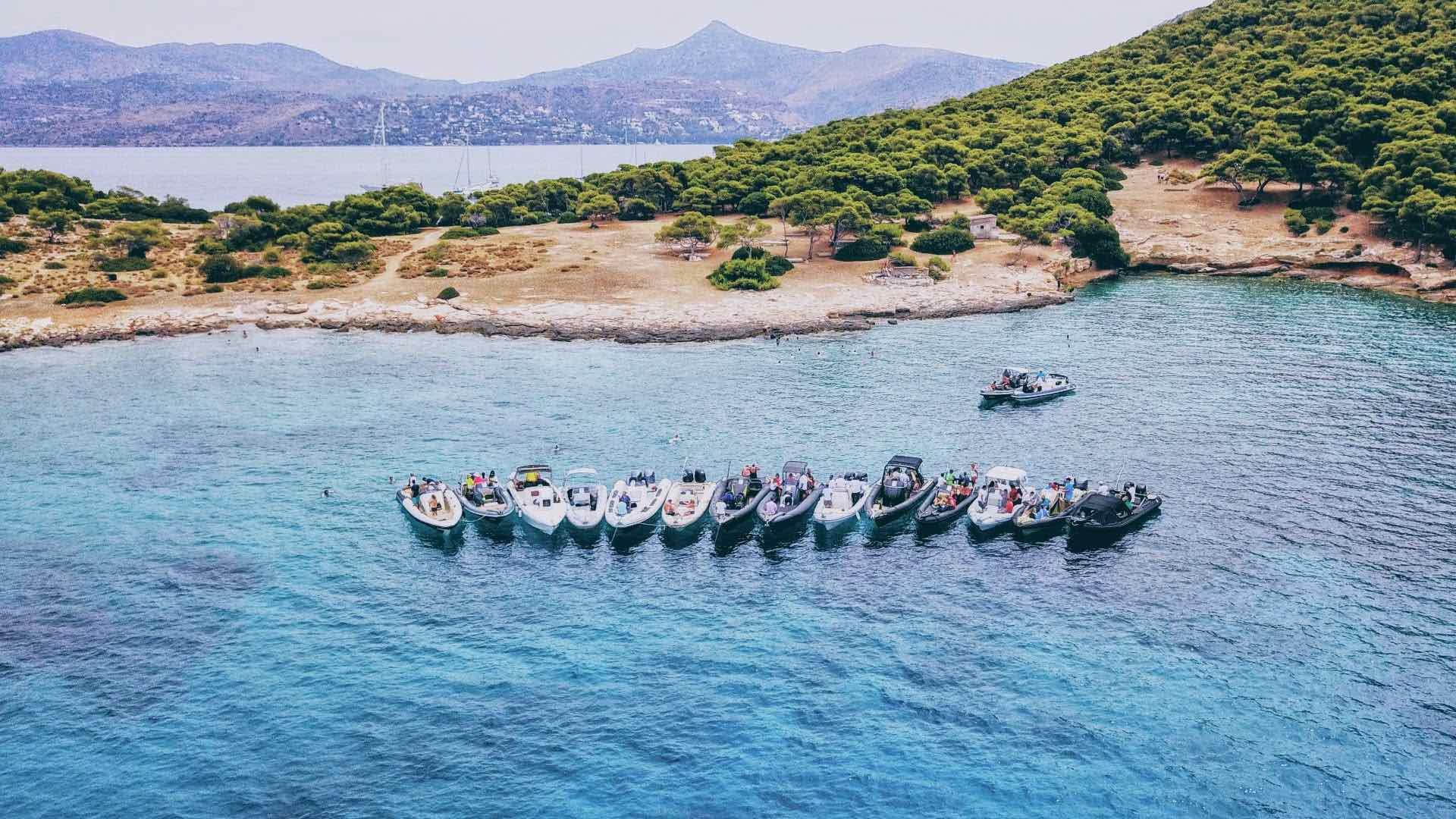 DB (8 hours): [Athens] Athens - Aegina Island - Moni Islet