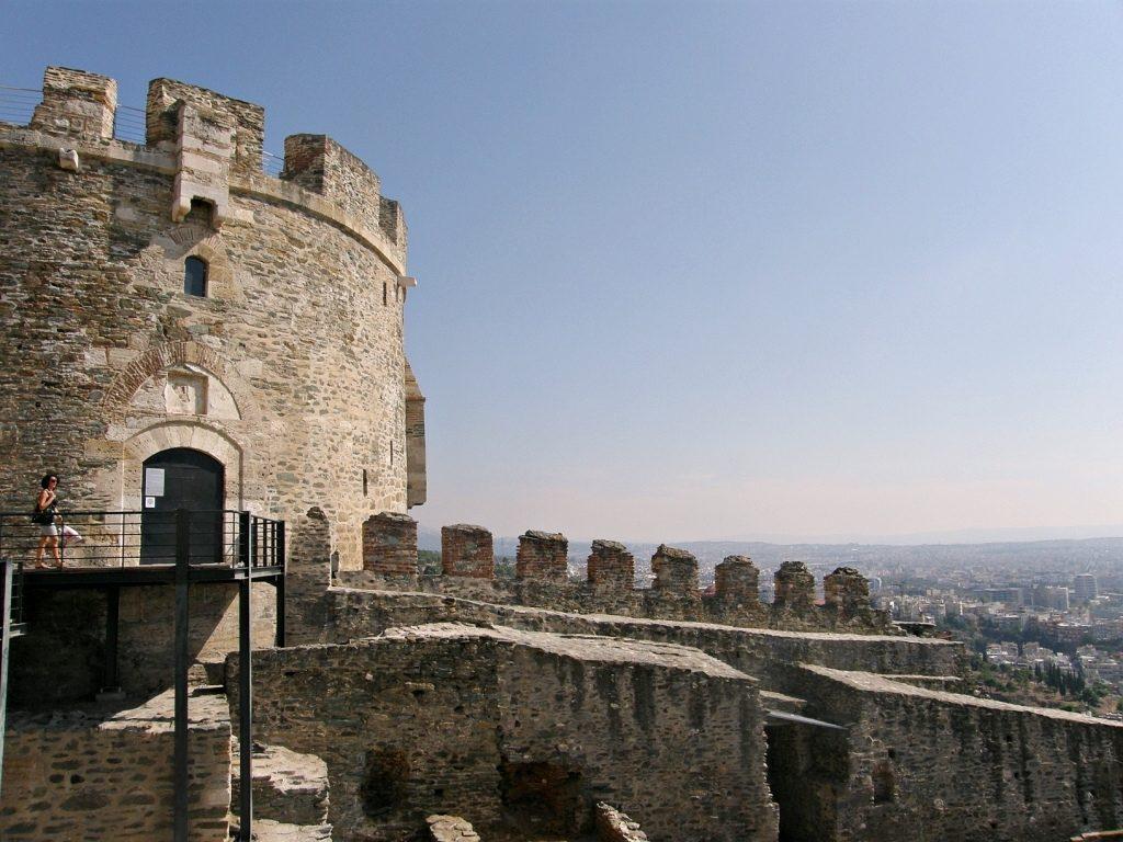 Travel Food People - City Walls, Thessaloniki