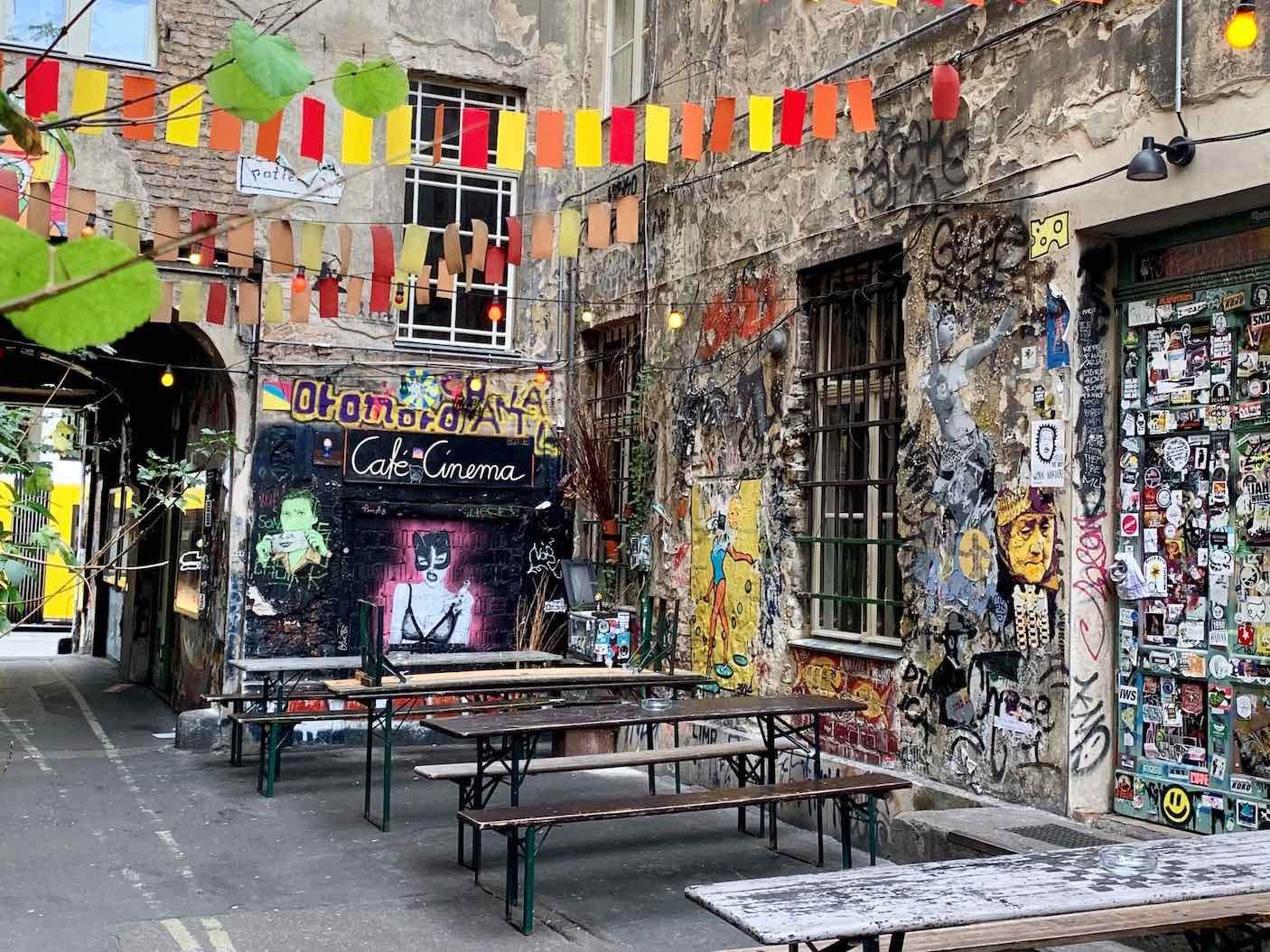 The Weekly Getaway: Street food and urban art in Berlin