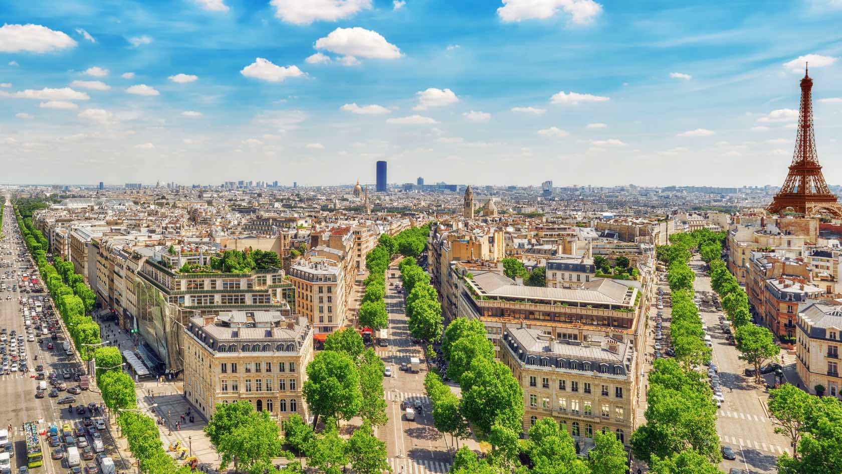 News: Champs Elysee in Paris to transform into a green oasis