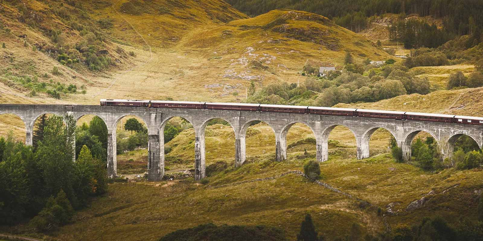 News: a luxury train with whisky tastings and castle tours