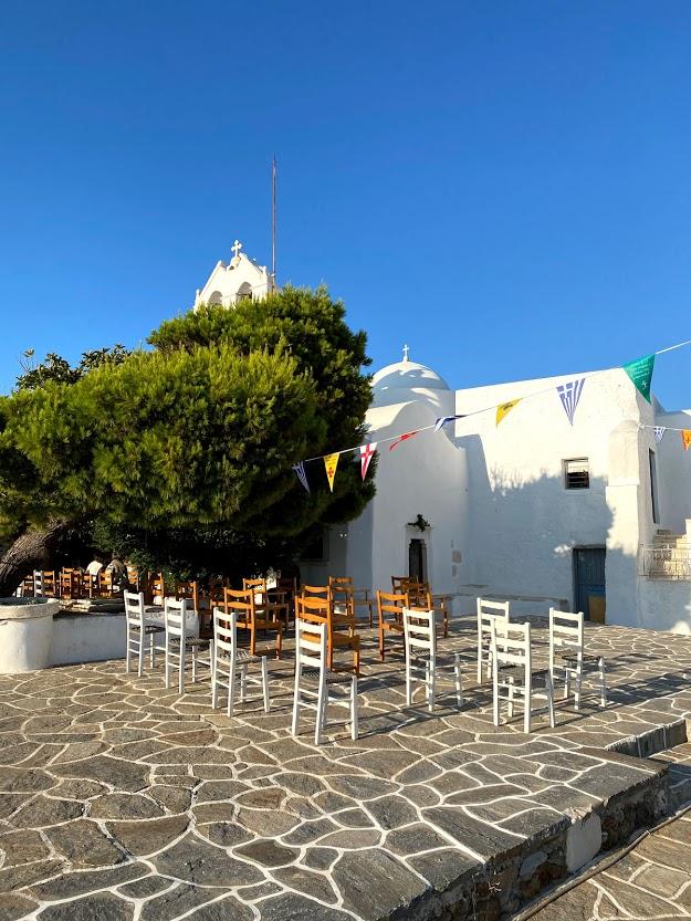 Travel Food People - St Antonios Monastery, Paros