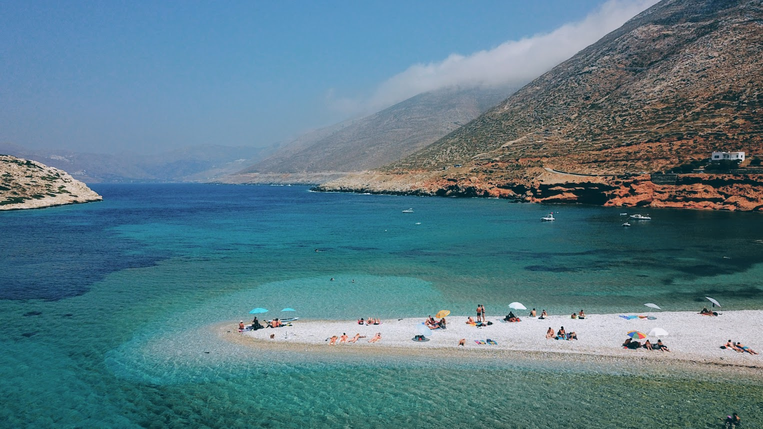 Going off the beaten path in beautiful Amorgos