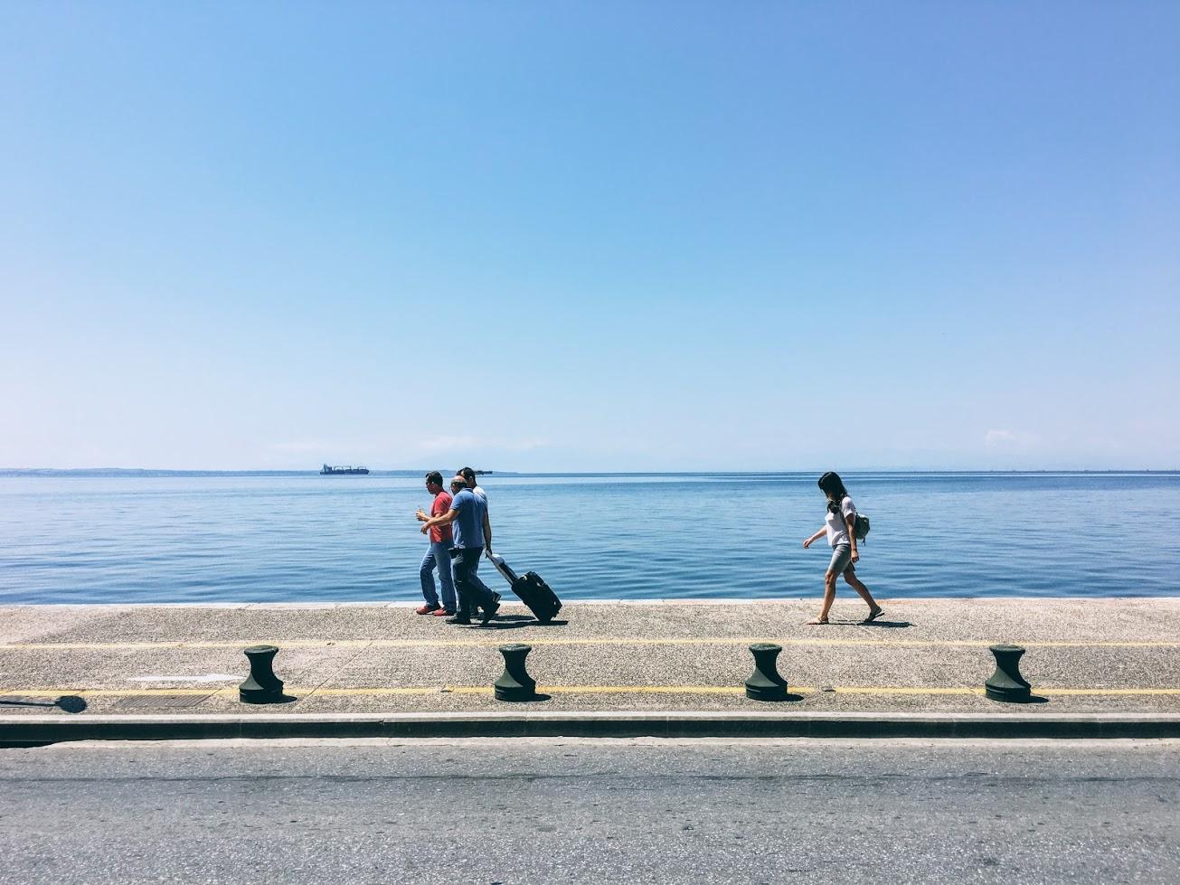Travel Food People - Waterfront, Thessaloniki