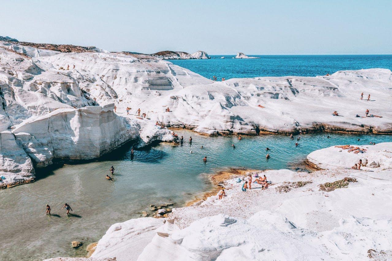 Romantic getaway to volcanic Milos