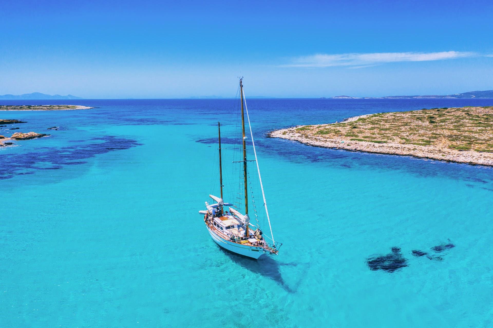 ET (4 hours): [Paros] Traditional Boat Tour