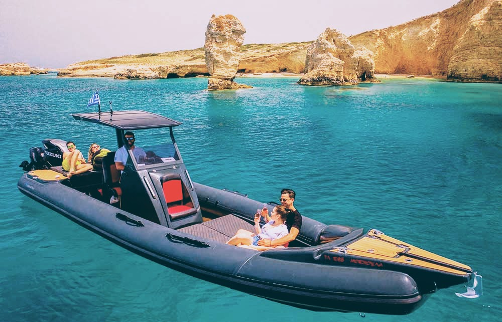 CA (9 hours): [Sifnos] Speed Boat Adventure to Exotic Koufonisia