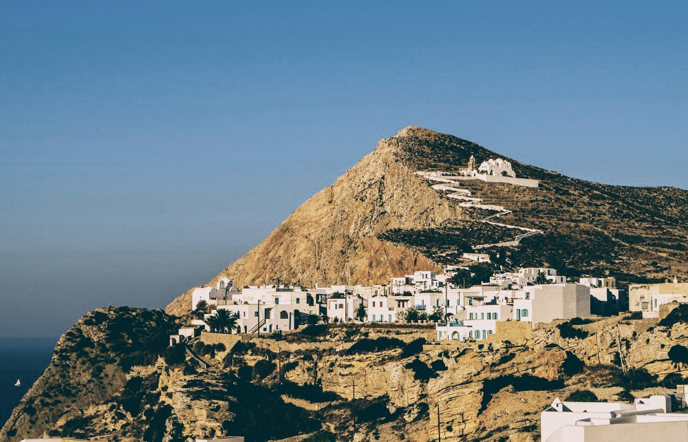 Travel Food People - Chora, Folegandros