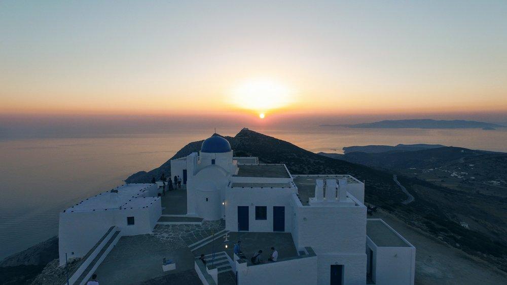 Travel Food People - Agios Symeon Church, Sifnos