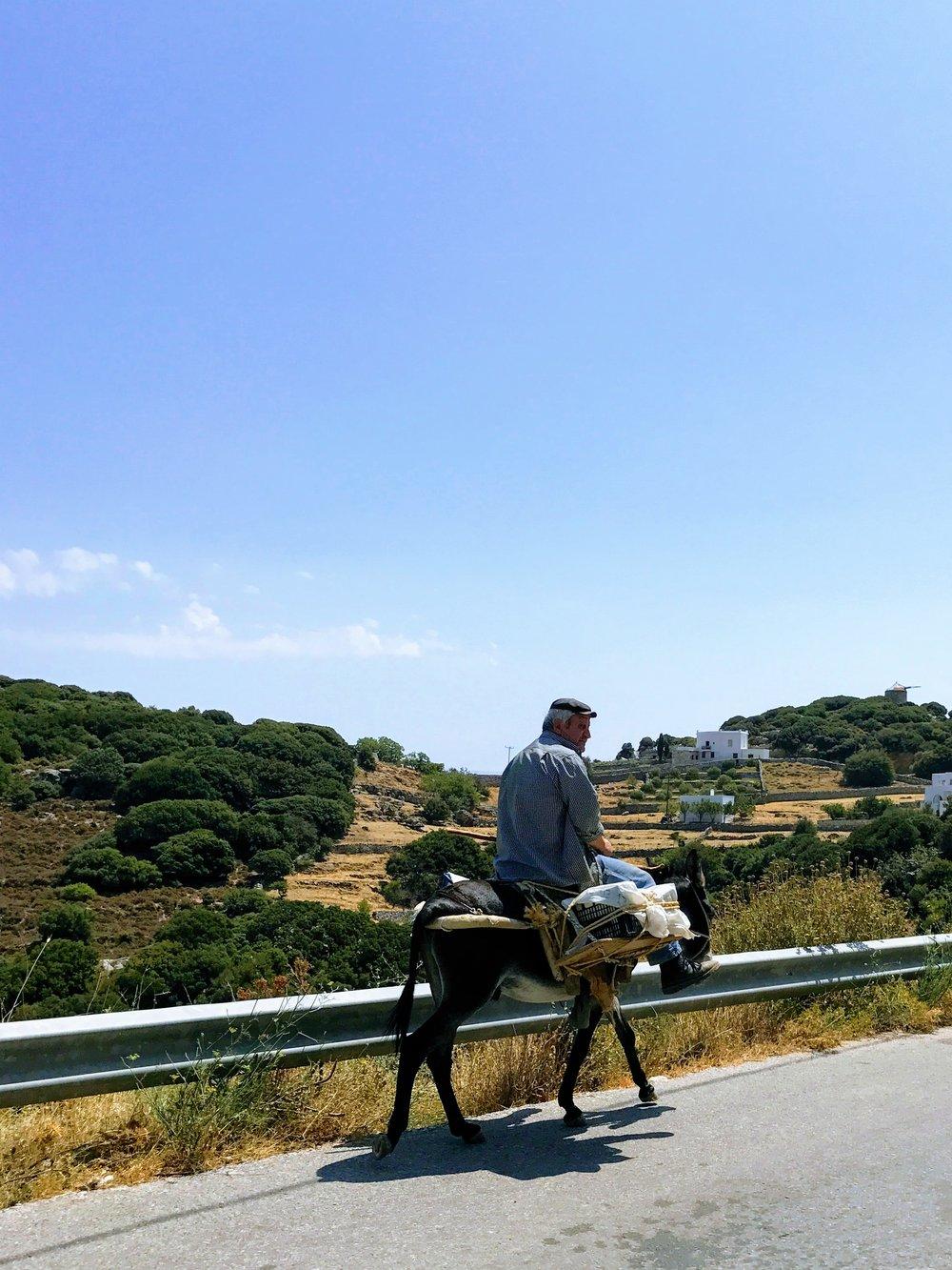 Travel Food People - Chalkion, Naxos