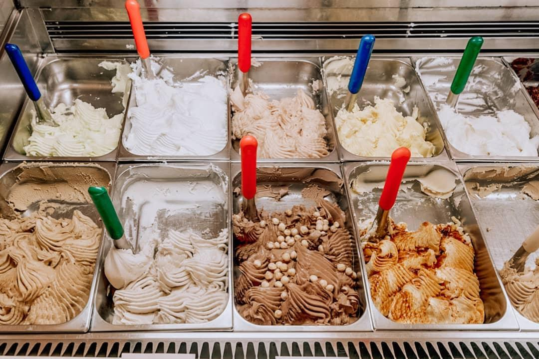 Athens: freshly made ice cream daily at Django