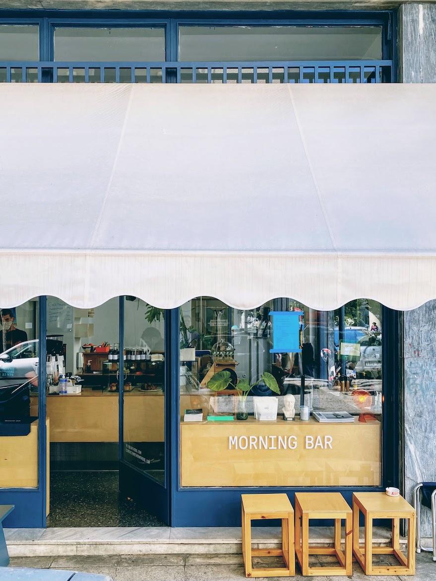 Travel Food People - Morning Bar, Athens