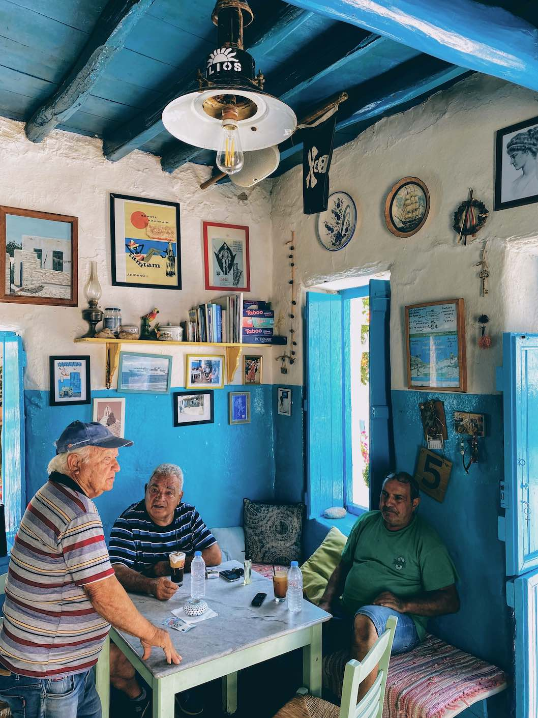 Travel Food People - H Xara, Schinoussa