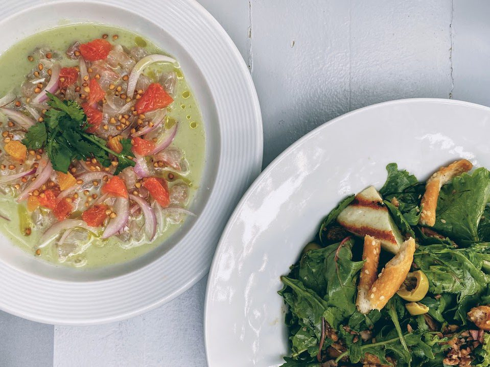 Mani: gourmet seaside dining at Lela's Taverna