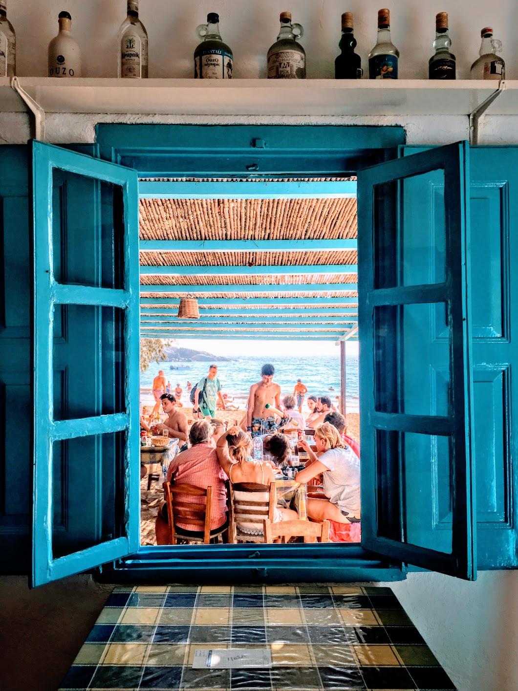 Travel Food People - Psili Ammos, Patmos